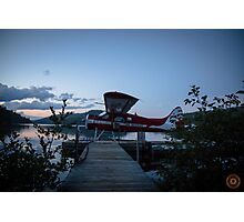 Air Saguenay - Seaplane Photo Photographic Print