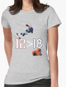 12>18 Womens Fitted T-Shirt