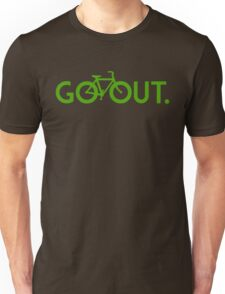 GO OUT (Green) Unisex T-Shirt