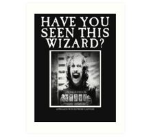Sirius Black!! Art Print