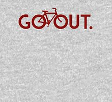 GO OUT (Red) Unisex T-Shirt