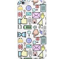 Retro Computer Icons iPhone Case/Skin