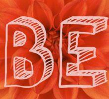 Be Sticker