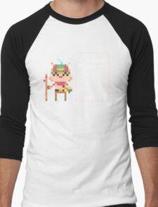 Pixel Teemo Men's Baseball ¾ T-Shirt