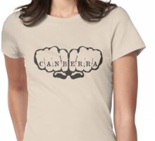 Canberra! Womens Fitted T-Shirt