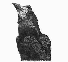 Raven Superhero Doodle Unisex T-Shirt