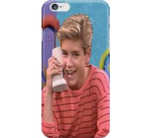 Saved By Zack Morris iPhone Case/Skin