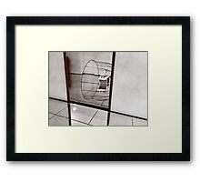 Abstract like the world  Framed Print