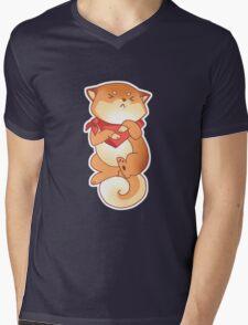 Rude Shiba Dog 5 - Intestinal Distress Mens V-Neck T-Shirt