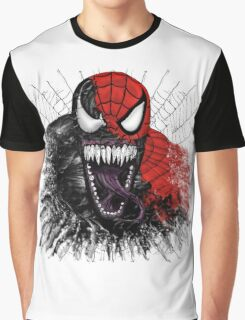 spiderman venom mash up Graphic T-Shirt