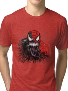 spiderman venom mash up Tri-blend T-Shirt