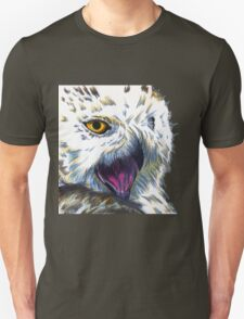 Snowy Owl Doodle Unisex T-Shirt