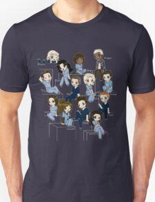 Grey's anatomy- cartoon cast Unisex T-Shirt