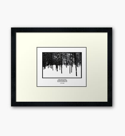 Deep Roots Poster, quote from Tolkein Framed Print