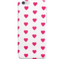 Heart texture iPhone Case/Skin