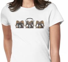Silence of the Rams Womens Fitted T-Shirt
