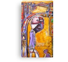 Mr metro Canvas Print