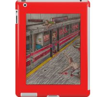 Zombies on the Red Line iPad Case/Skin