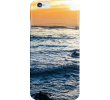 calm reflections at rocky beal beach iPhone Case/Skin