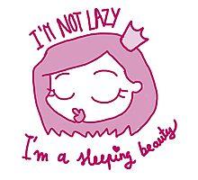 Lazy princess Photographic Print