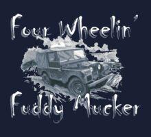Four Wheelin' Fuddy Mucker - Land Rover by Sally-Anna
