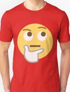 Thinking face emoji Unisex T-Shirt