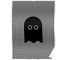 PAC MAN GHOST Poster