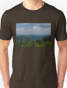 Just Climb the Mountain and Breathe Deeply Unisex T-Shirt
