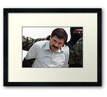 El Chapo Arrest Framed Print