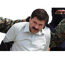 El Chapo Arrest Photographic Print