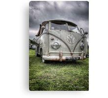 VW Split Screen Pick Up Canvas Print