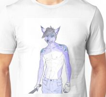 Furry baseball guy Unisex T-Shirt