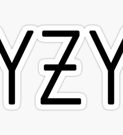 YZY Sticker