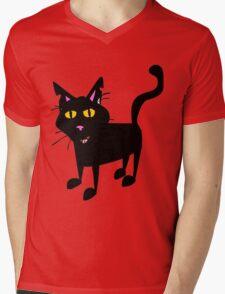 Cute Mens V-Neck T-Shirt