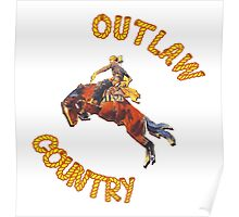 Outlaw Country, Woo! Poster