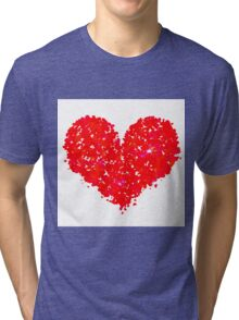 Happy Valentine's Day Tri-blend T-Shirt