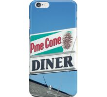 Pine Cone Diner iPhone Case/Skin