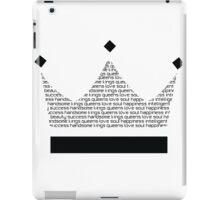 Black Kings iPad Case/Skin
