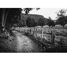 Rural Dirt Road Photographic Print