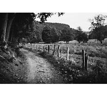 Rural Dirt Road Photographic Print