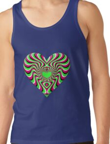 Burning Heart Tank Top