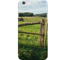 Wooden Meadow Fence iPhone Case/Skin