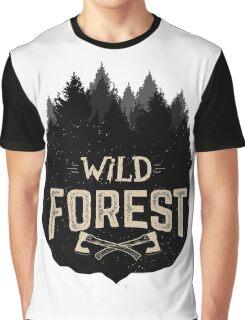 Wild Forest Graphic T-Shirt