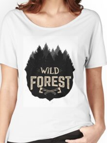 Wild Forest Women's Relaxed Fit T-Shirt
