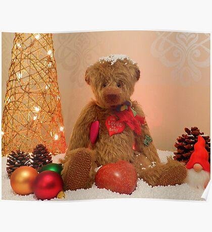 Cuddles at Christmas Poster