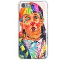 Clown series - Oh no! iPhone Case/Skin
