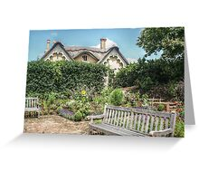 Fairy Tale House and Garden Greeting Card