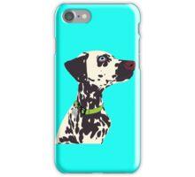 Sammie the Dalmatian Portrait iPhone Case/Skin