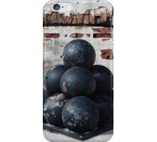 Cannon Balls iPhone Case/Skin
