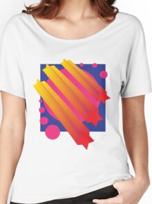 Vaporwave-Comets Women's Relaxed Fit T-Shirt